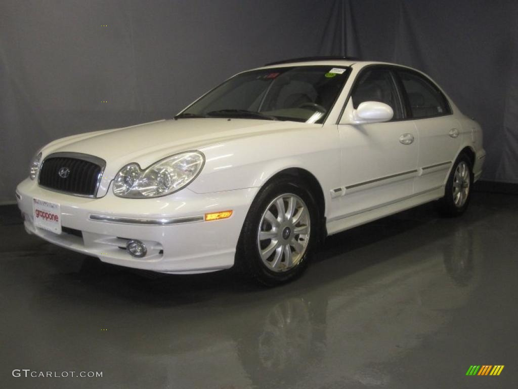2002 noble white hyundai sonata lx v6 34095497 gtcarlot com car color galleries gtcarlot com