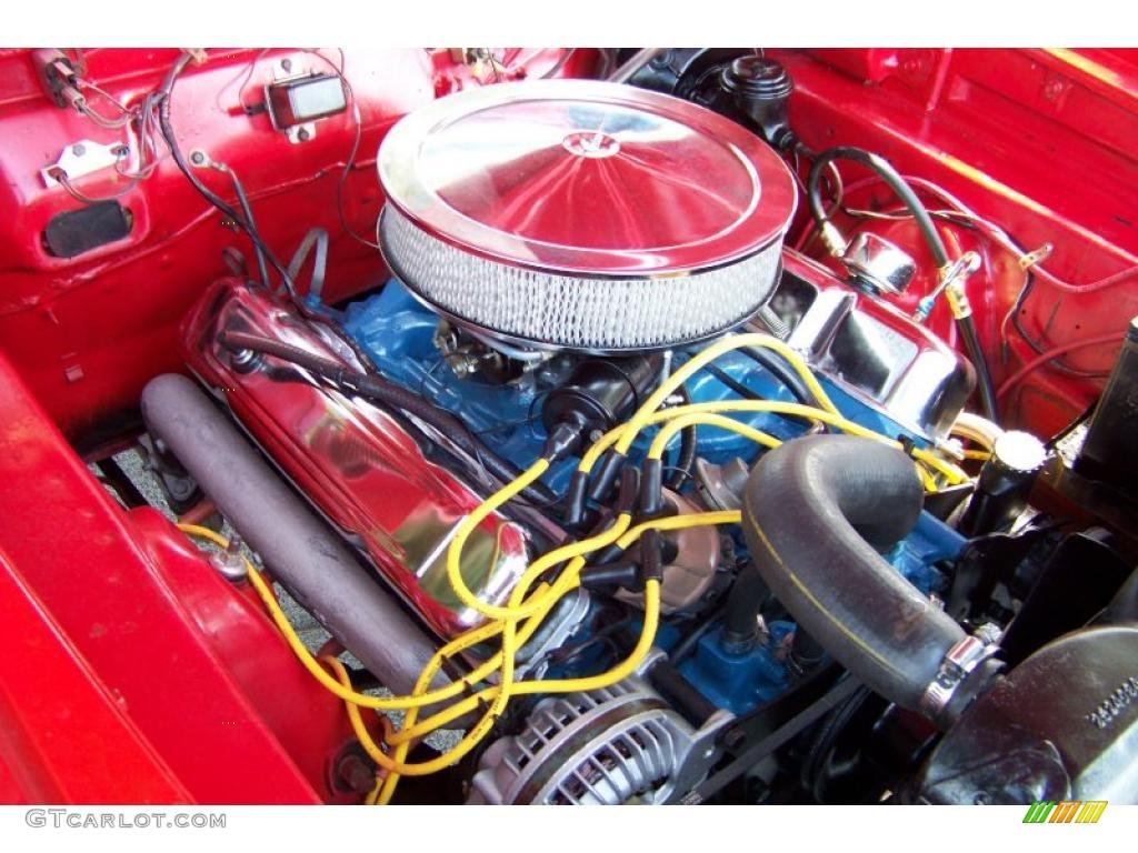 1965 Dodge Coronet 440 Convertible 361 Cid V8 Engine Photo