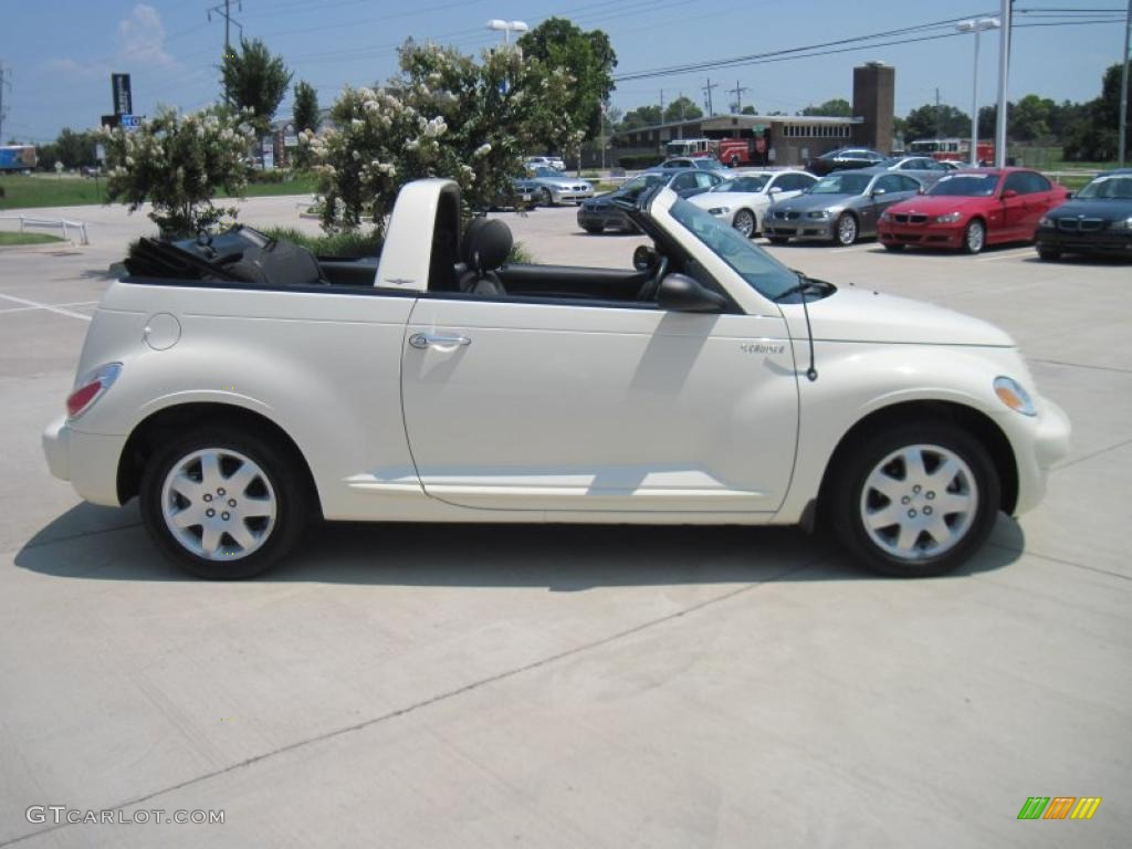 2005 Cool Vanilla White Chrysler Pt Cruiser Convertible 34095535 Photo 4