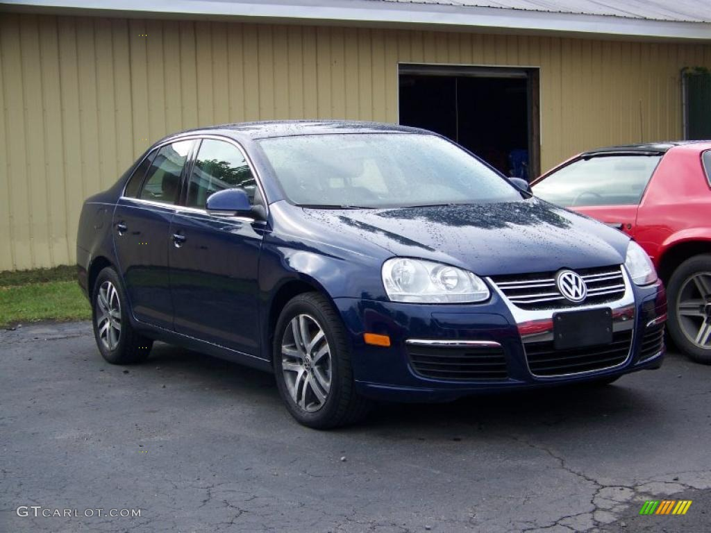 2006 shadow blue metallic volkswagen jetta tdi sedan 34095631 car color galleries. Black Bedroom Furniture Sets. Home Design Ideas