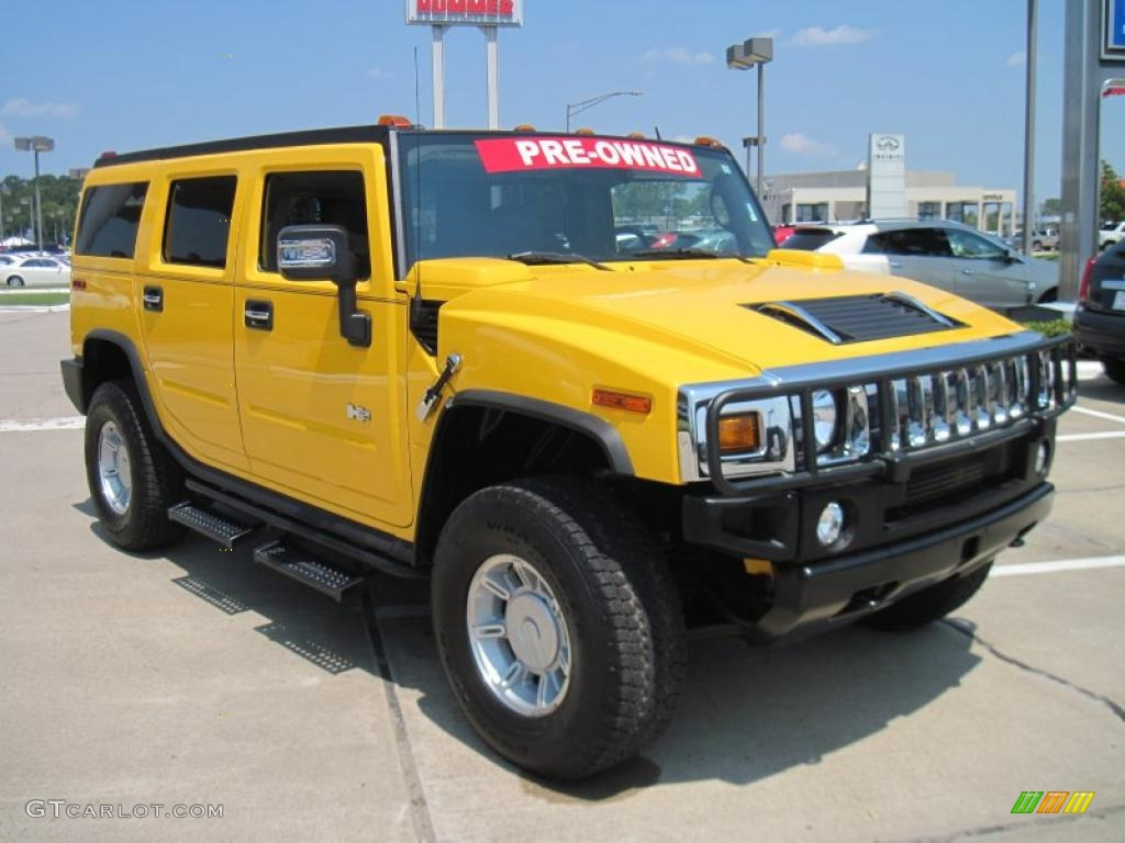 Yellow Hummer Suv Photo Gtcarlot Com Car