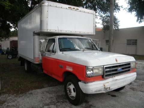 1990 ford f350 xlt regular cab 4x4 chassis moving truck data info and specs. Black Bedroom Furniture Sets. Home Design Ideas