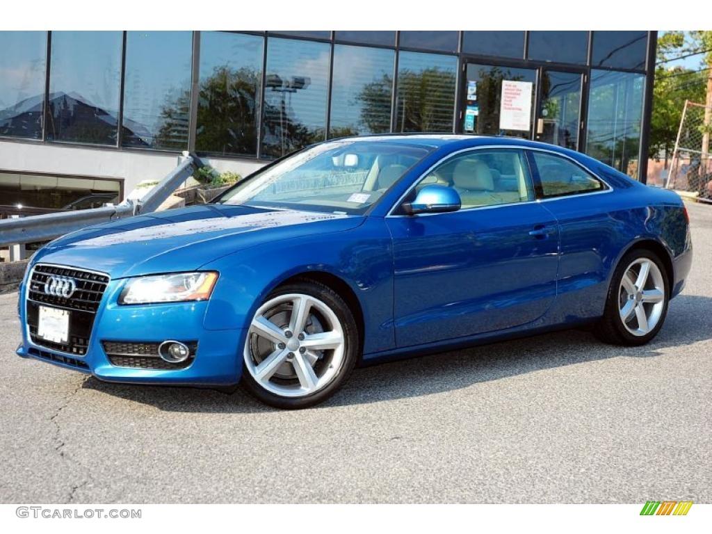 2009 Aruba Blue Pearl Audi A5 3 2 Quattro Coupe 34168332