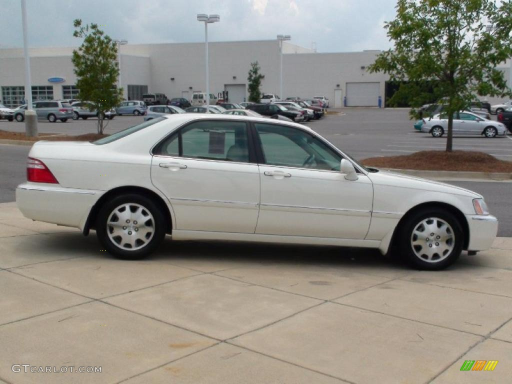 2003 premium white pearl acura rl 3 5 sedan 34168690. Black Bedroom Furniture Sets. Home Design Ideas