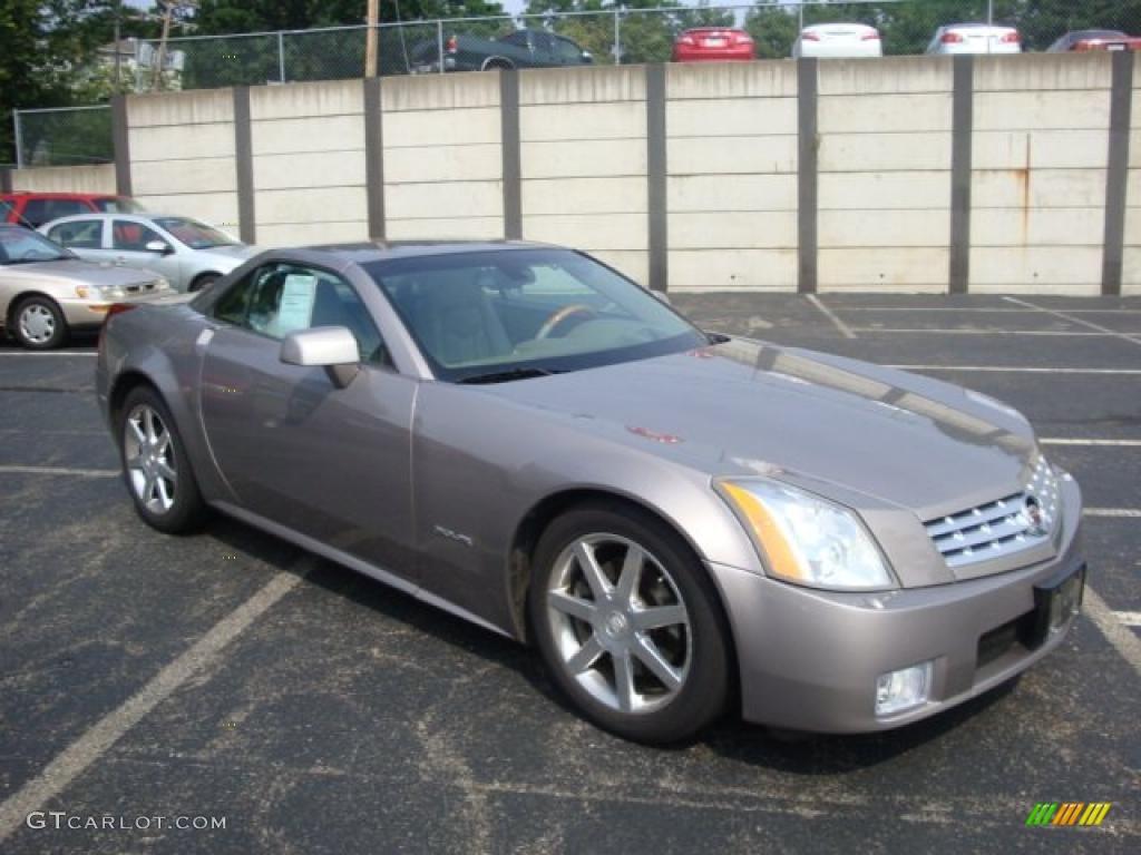 2004 xlr roadster satin nickel shale photo 1
