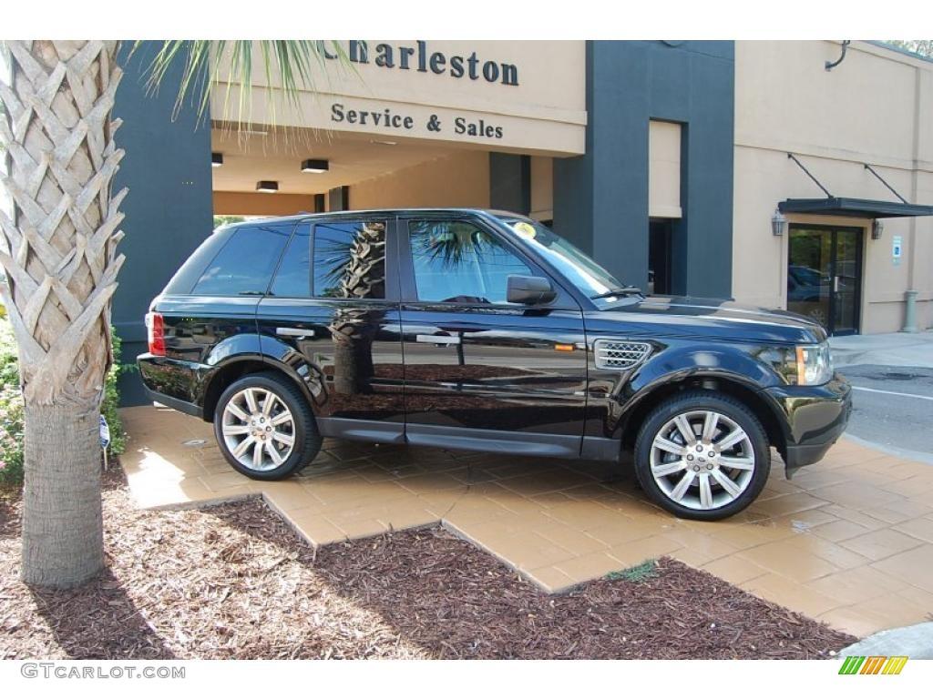 2007 java black pearl land rover range rover sport supercharged 34168393 car. Black Bedroom Furniture Sets. Home Design Ideas