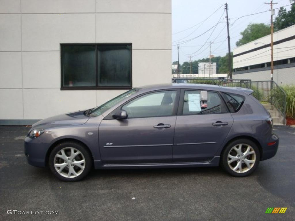 2007 galaxy gray mica mazda mazda3 s touring hatchback. Black Bedroom Furniture Sets. Home Design Ideas