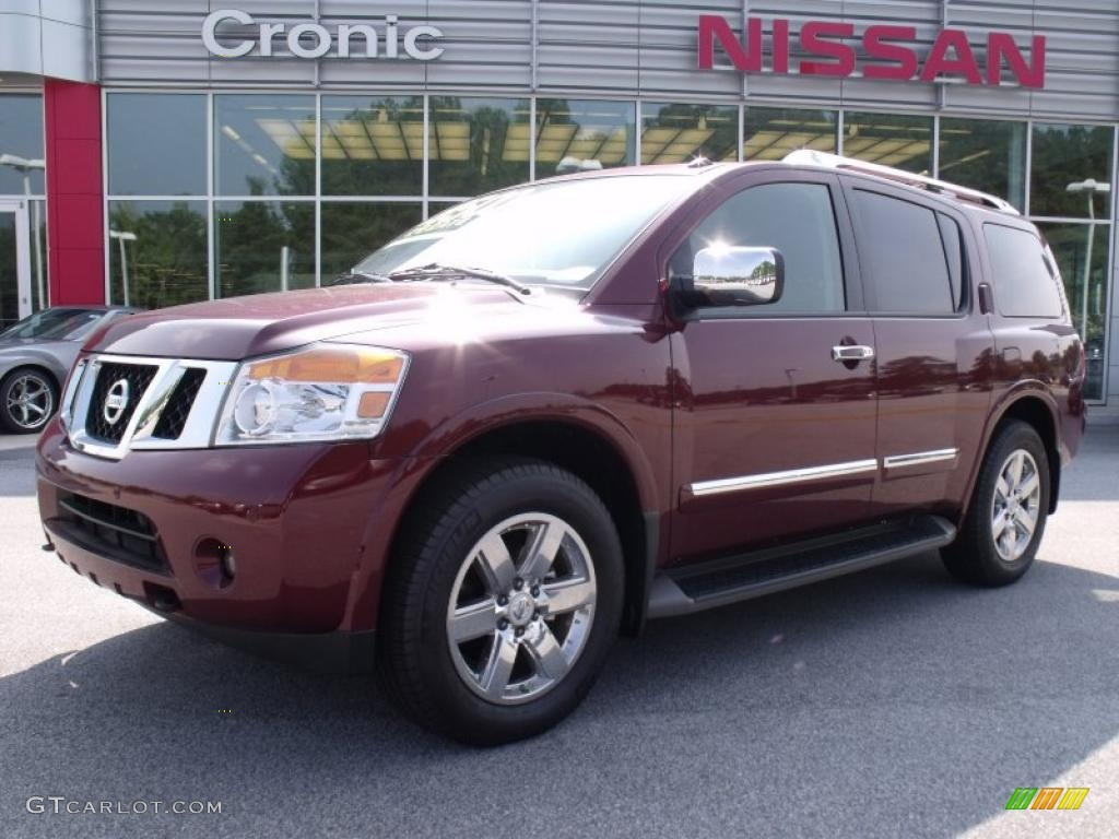 2010 tuscan sun red pearl nissan armada platinum 34242291. Black Bedroom Furniture Sets. Home Design Ideas