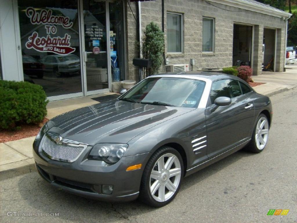 2005 machine grey chrysler crossfire limited coupe. Black Bedroom Furniture Sets. Home Design Ideas
