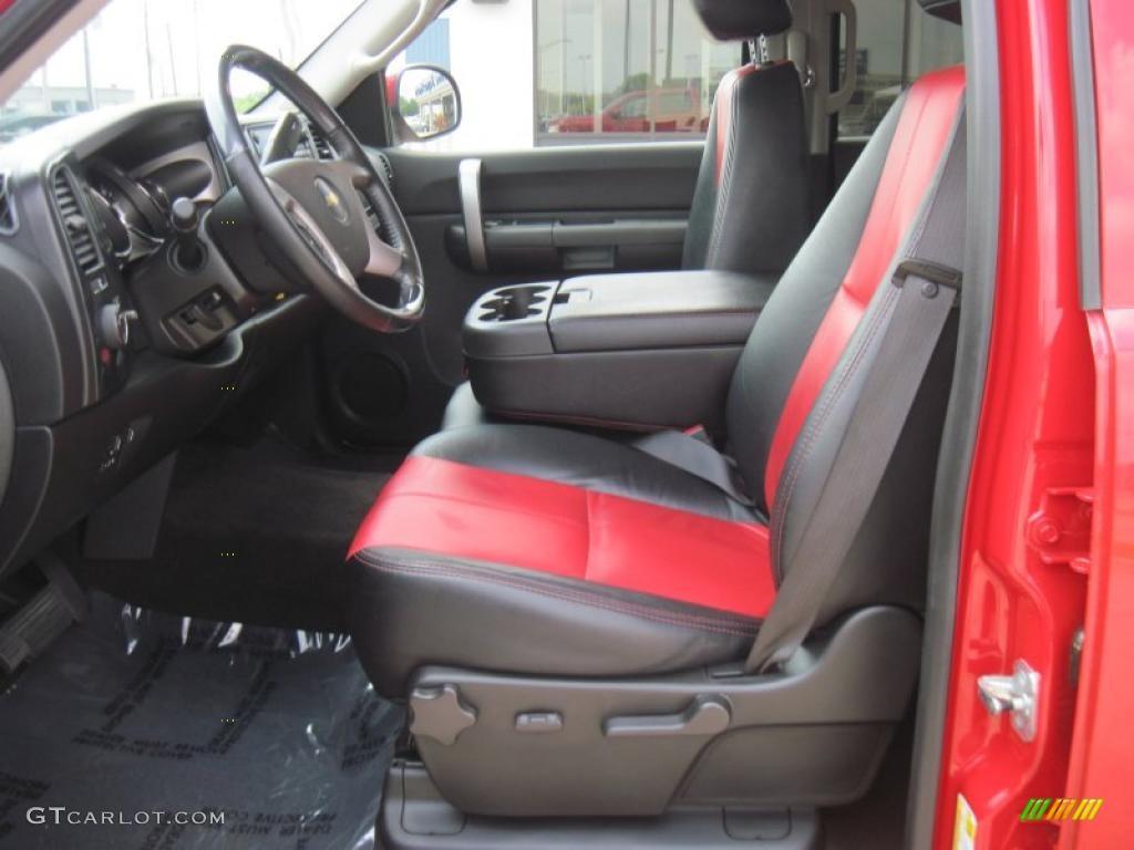 2008 victory red chevrolet silverado 1500 ltz crew cab 4x4 34242469 photo 8. Black Bedroom Furniture Sets. Home Design Ideas