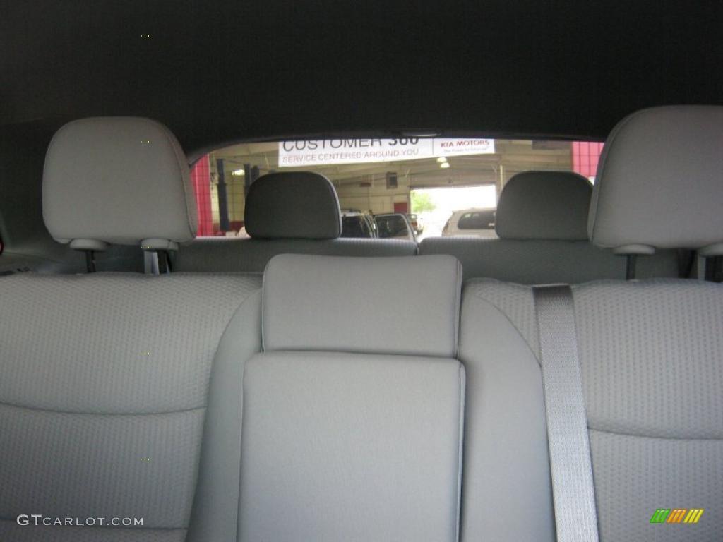 2011 Sorento LX V6 - Spicy Red / Beige photo #18