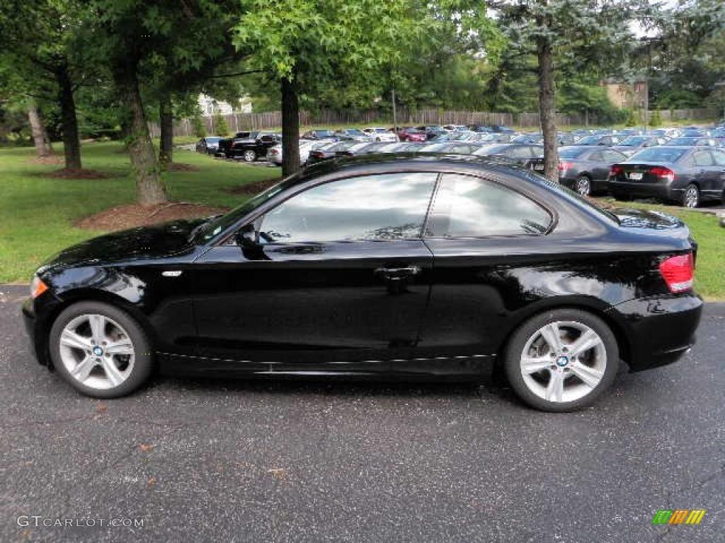 2009 black sapphire metallic bmw 1 series 128i coupe 34242819 car color galleries - Black bmw 1 series coupe ...