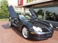 Crystal Picotite Black Metallic 2009 Mercedes-Benz SLR McLaren Roadster