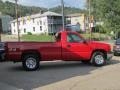 2005 Victory Red Chevrolet Silverado 1500 Regular Cab 4x4  photo #4