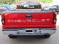2005 Victory Red Chevrolet Silverado 1500 Regular Cab 4x4  photo #6