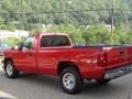 2005 Victory Red Chevrolet Silverado 1500 Regular Cab 4x4  photo #8