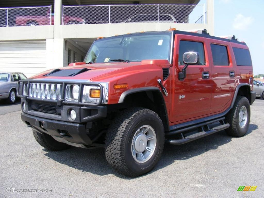 2004 sunset orange metallic hummer h2 suv 34320205 photo 4 sunset orange metallic hummer h2 vanachro Image collections