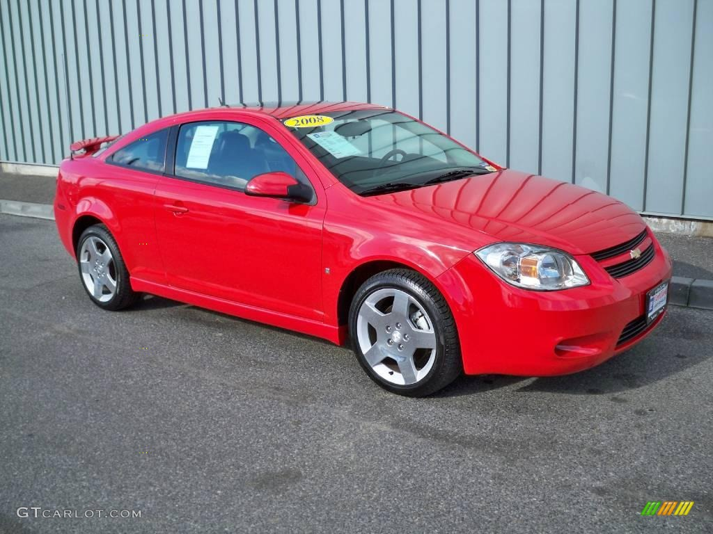 Chevy Cobalt Red Paint