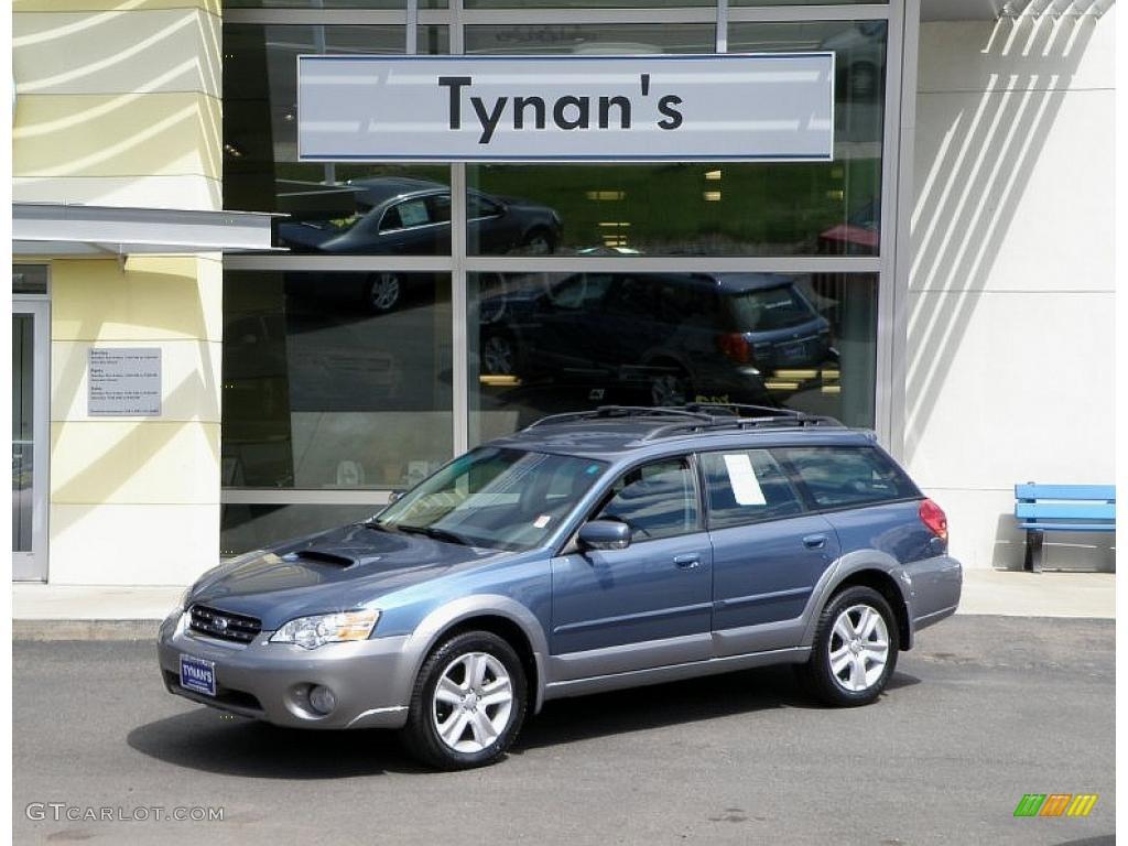 on 2005 Subaru Outback Gold