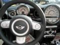 Checkered Carbon Black/Black Steering Wheel Photo for 2009 Mini Cooper #34335226