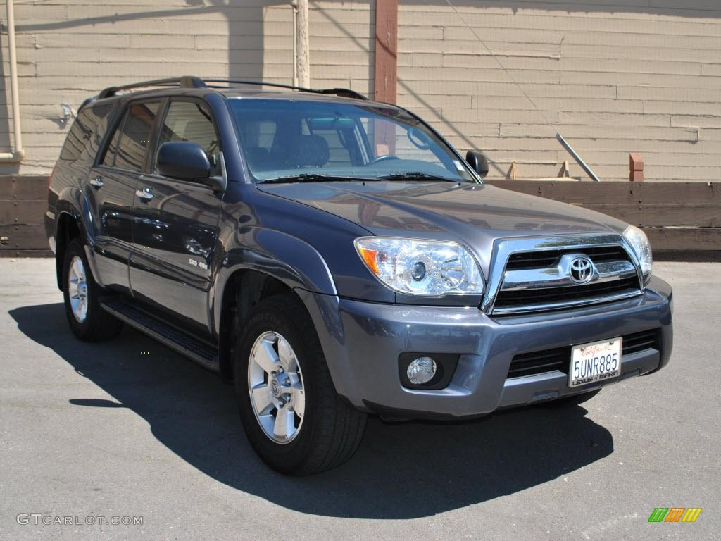 2006 galactic gray mica toyota 4runner sr5 4x4 34320379 car color galleries. Black Bedroom Furniture Sets. Home Design Ideas