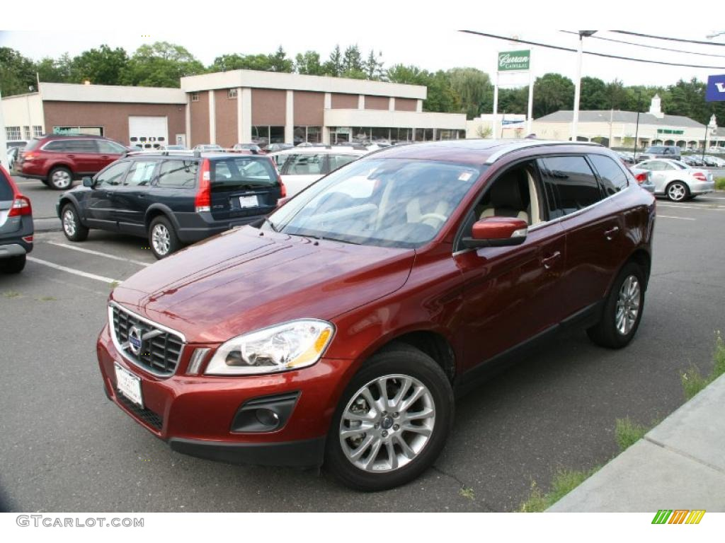 2010 maple red metallic volvo xc60 t6 awd 34320399 photo. Black Bedroom Furniture Sets. Home Design Ideas