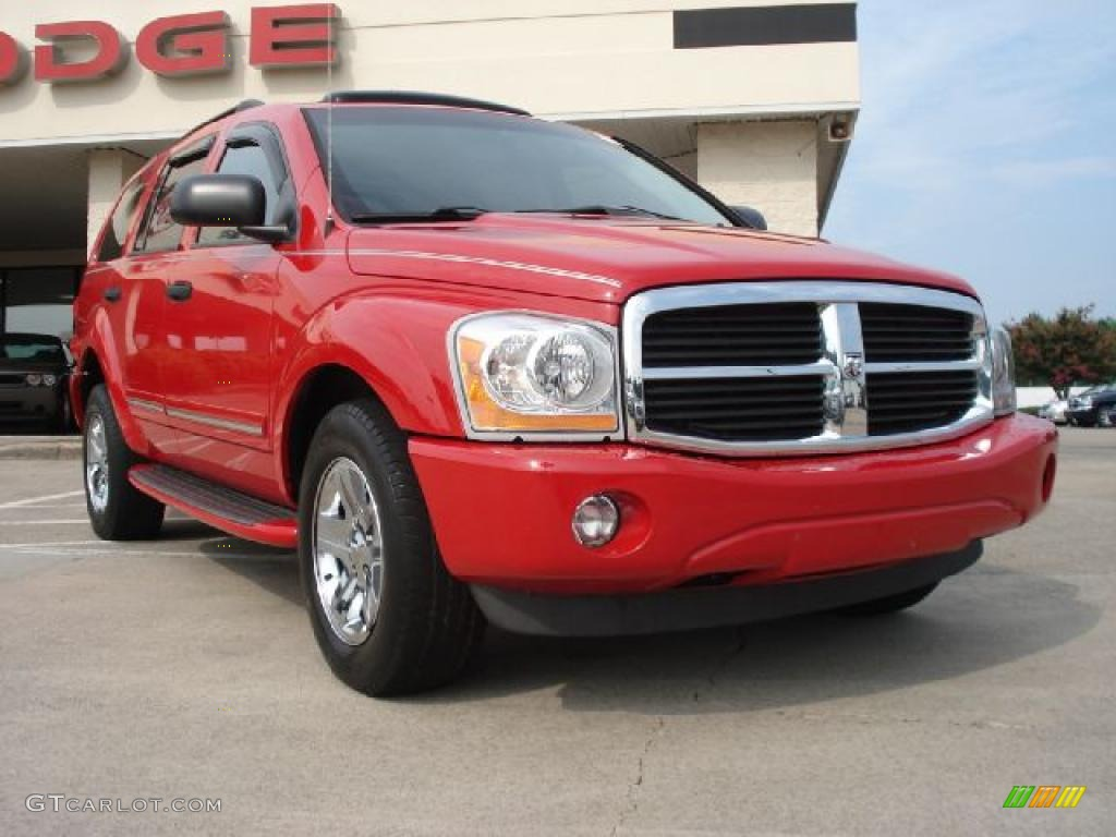 2005 flame red dodge durango limited 34320174 car color galleries. Black Bedroom Furniture Sets. Home Design Ideas
