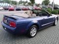 2007 Vista Blue Metallic Ford Mustang V6 Deluxe Convertible  photo #5