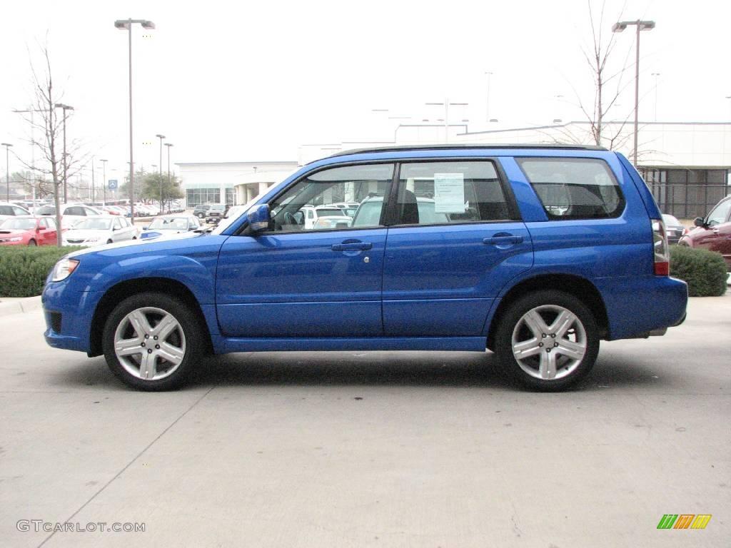 Wr Blue Pearl 2007 Subaru Forester 2 5 Xt Sports Exterior Photo 3439981 Gtcarlot Com