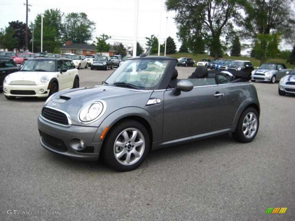 2010 Dark Silver Metallic Mini Cooper S Convertible ...