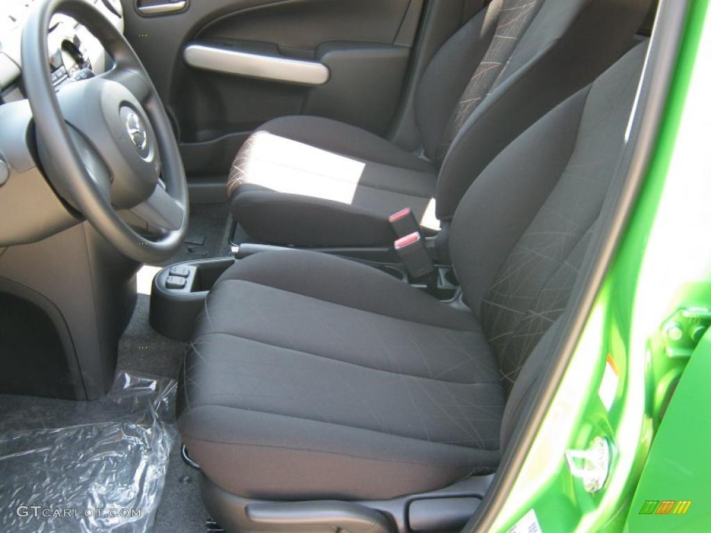 2011 spirited green metallic mazda mazda2 sport 34392525 photo 12 car color. Black Bedroom Furniture Sets. Home Design Ideas