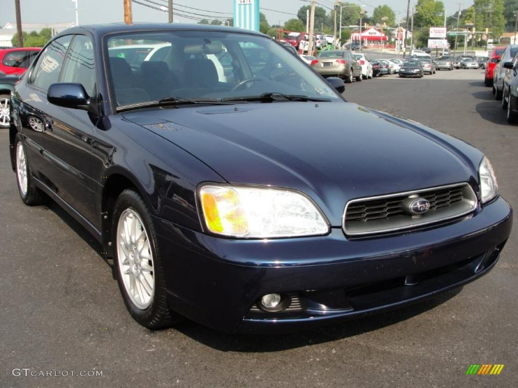 2003 mystic blue pearl subaru legacy l sedan 34392586 car color galleries. Black Bedroom Furniture Sets. Home Design Ideas