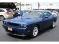 2009 Deep Water Blue Pearl Coat Dodge Challenger R/T #34392871