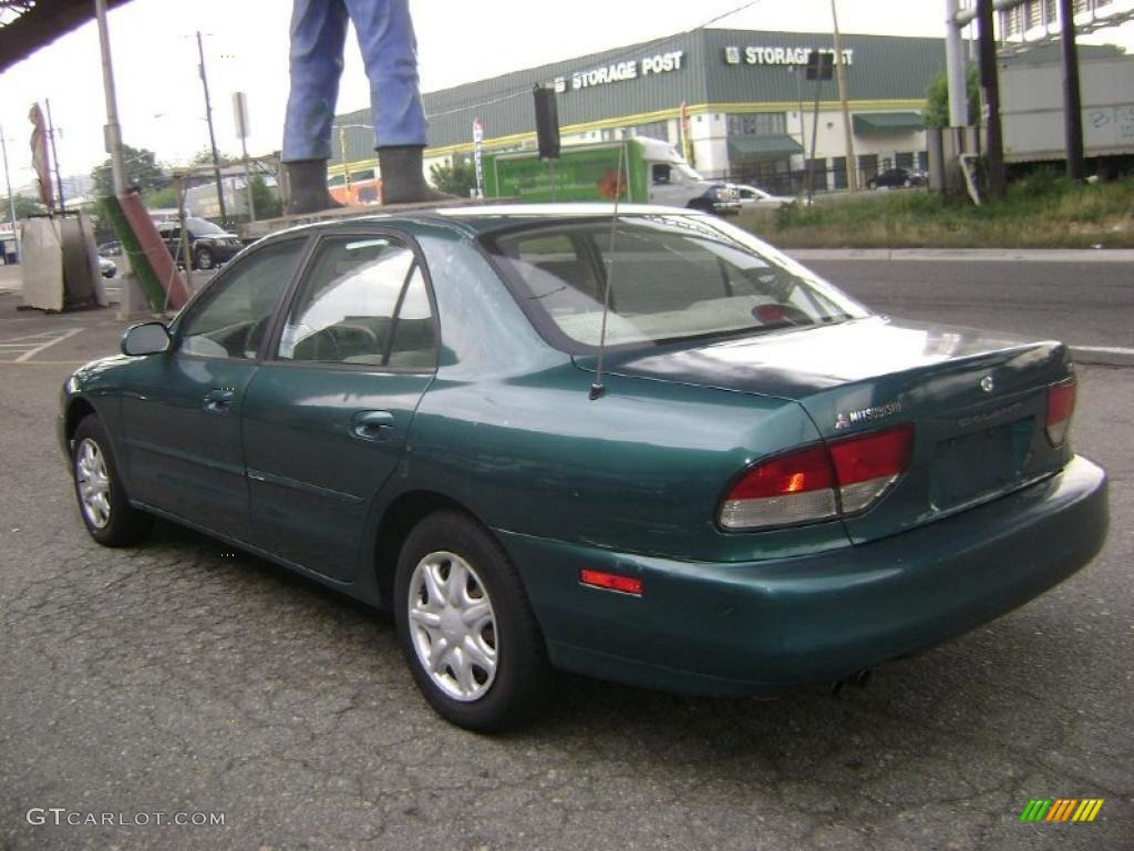 1997 galant es monarch green pearl metallic light gray photo 3