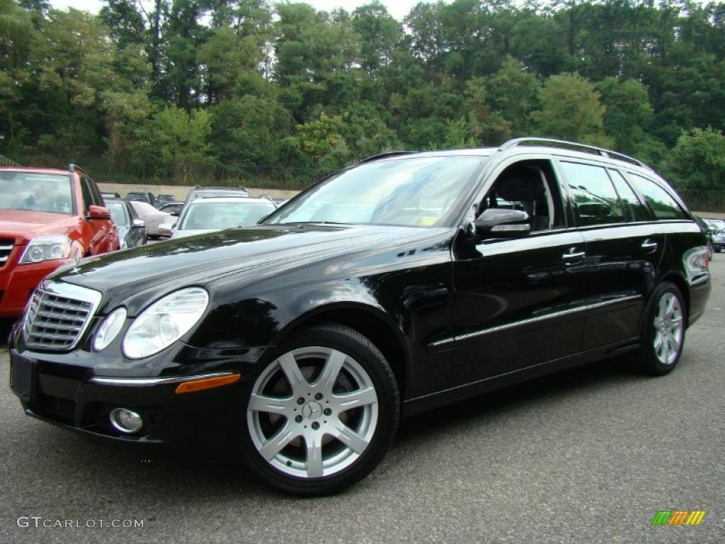 2007 black mercedes benz e 350 4matic wagon 34447025 for Mercedes benz e350 black