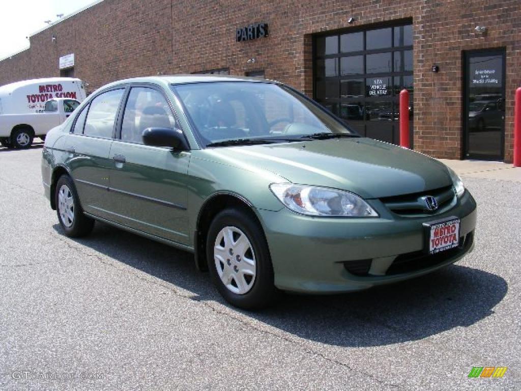 Galapagos Green Honda Civic