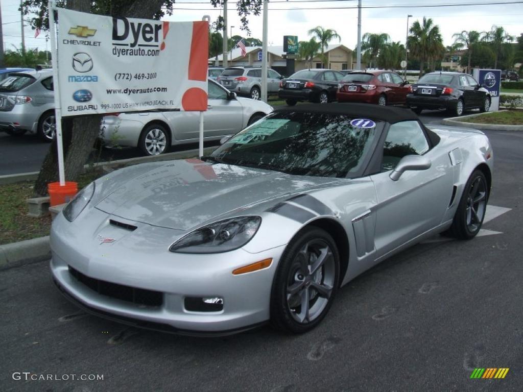 2011 blade silver metallic chevrolet corvette grand sport. Black Bedroom Furniture Sets. Home Design Ideas
