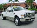 White Platinum Metallic Tri Coat 2010 Ford F450 Super Duty Gallery