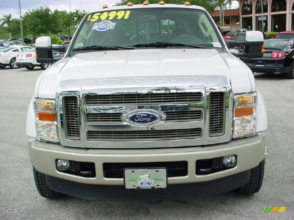 Ford F450 King Ranch White 2010 ford f450 super duty king ranch crew ...