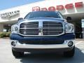 2008 Patriot Blue Pearl Dodge Ram 1500 Big Horn Edition Quad Cab 4x4  photo #8
