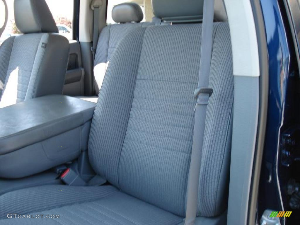 2008 Ram 1500 Big Horn Edition Quad Cab 4x4 - Patriot Blue Pearl / Medium Slate Gray photo #9