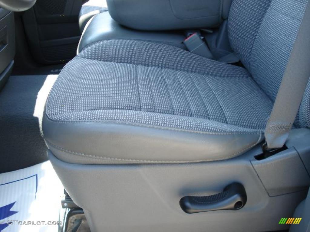 2008 Ram 1500 Big Horn Edition Quad Cab 4x4 - Patriot Blue Pearl / Medium Slate Gray photo #10