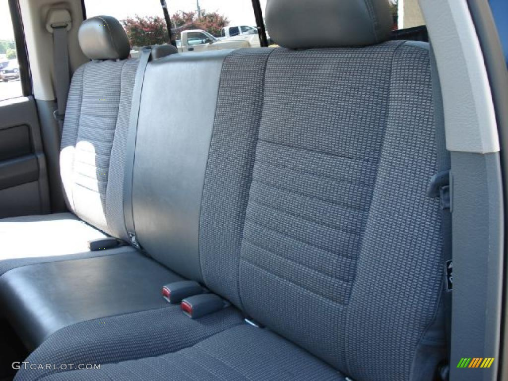 2008 Ram 1500 Big Horn Edition Quad Cab 4x4 - Patriot Blue Pearl / Medium Slate Gray photo #11