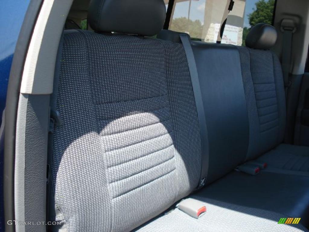 2008 Ram 1500 Big Horn Edition Quad Cab 4x4 - Patriot Blue Pearl / Medium Slate Gray photo #14