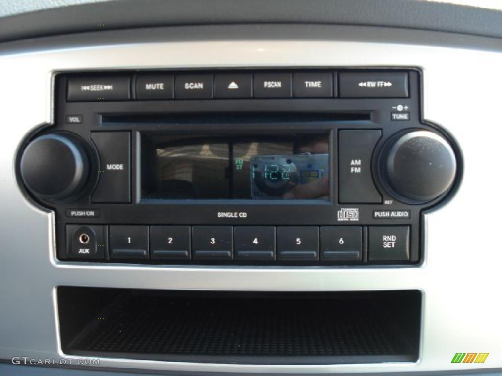 2008 Ram 1500 Big Horn Edition Quad Cab 4x4 - Patriot Blue Pearl / Medium Slate Gray photo #21