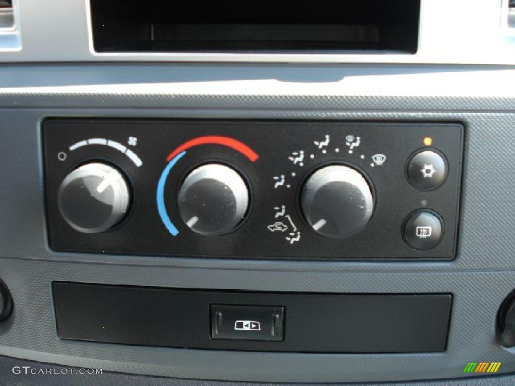 2008 Ram 1500 Big Horn Edition Quad Cab 4x4 - Patriot Blue Pearl / Medium Slate Gray photo #22