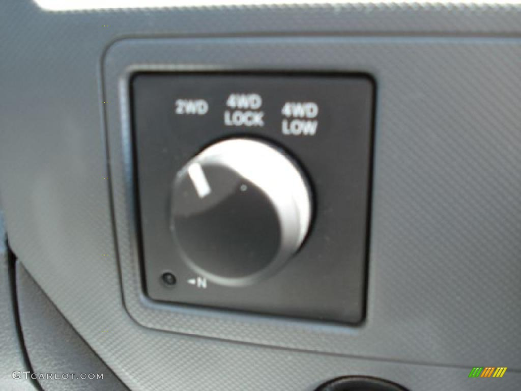 2008 Ram 1500 Big Horn Edition Quad Cab 4x4 - Patriot Blue Pearl / Medium Slate Gray photo #23