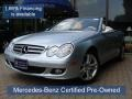 Diamond Silver Metallic 2008 Mercedes-Benz CLK 350 Cabriolet