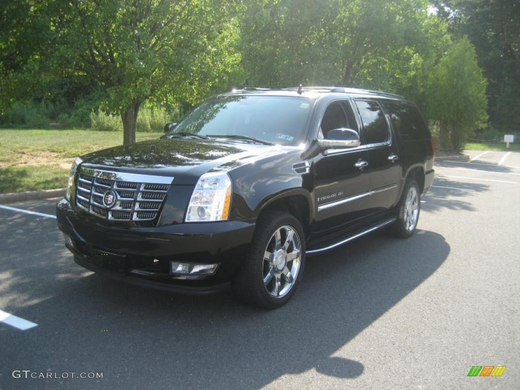 2007 cadillac escalade esv awd black raven color ebony ebony. Cars Review. Best American Auto & Cars Review