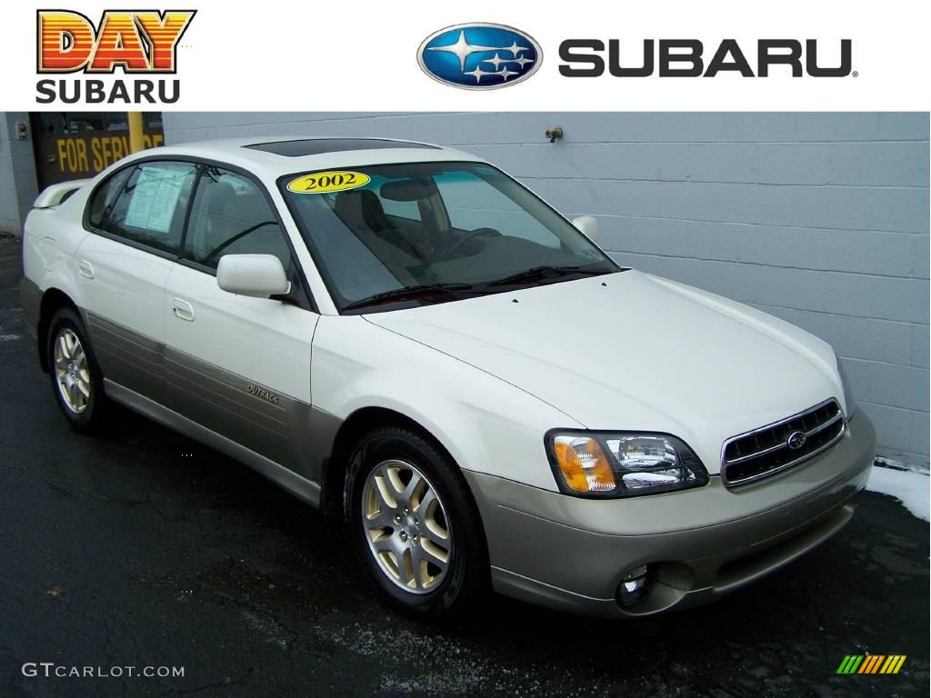 2002 white frost pearl subaru outback limited sedan 3448949 2002 outback limited sedan white frost pearl beige photo 1 vanachro Image collections